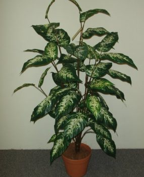 Artificial Dieffenbachia plant 1.2mt with 37 realistic leaves