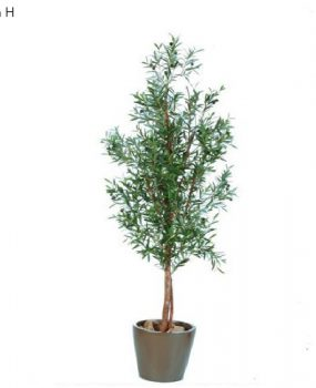 Artificial Olive Tree 1.7mt on natural timber trunk