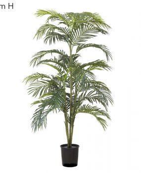 Artificial Areca Palm 1.8mt x 7 stems dark green