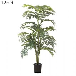 Artificial Areca Palm 1.8mt x 7 stems dark green