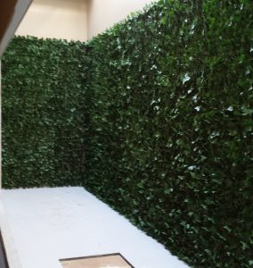 Artificial Ivy Wall