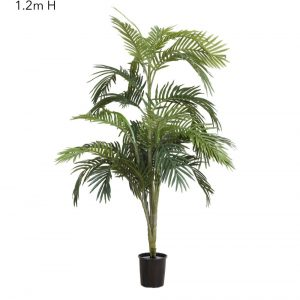 Artificial Areca Palm 1.2mt with realistic leaves and foliage
