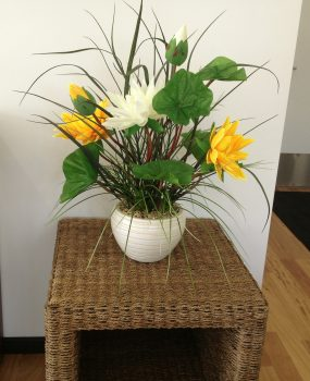 Artificial Flower Arrangement – Lotus Flower Arrangement