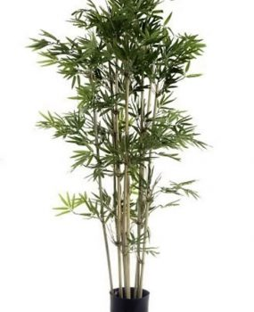 Artificial Bamboo Tree 1.2mt Japanese on natural Bamboo poles