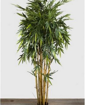 Artificial Bamboo Tree 2.2mt on natural Bamboo poles with over 2000 realistic leaves