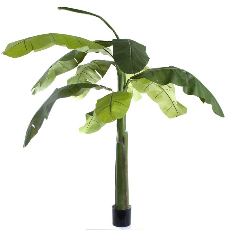 Artificial Banana Tree 1.5mt single trunk- Silk Trees And ...