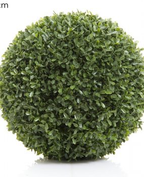 Artificial Boxwood Ball 28cm with realistic foliage