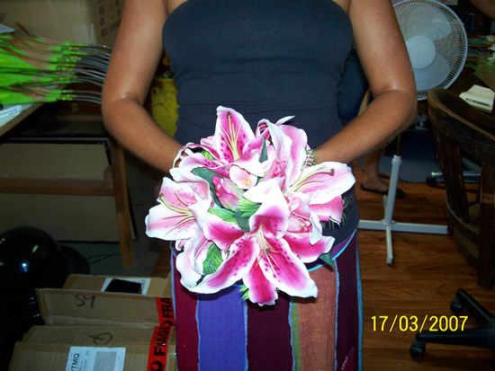 Casablanca Bouquet - Artificial Wedding Bouquet