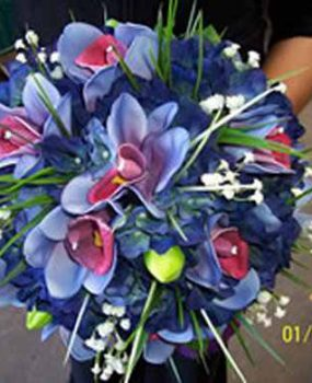 Designer Orchid Posy