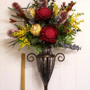 Artificial arrangement flowers- Native Urn