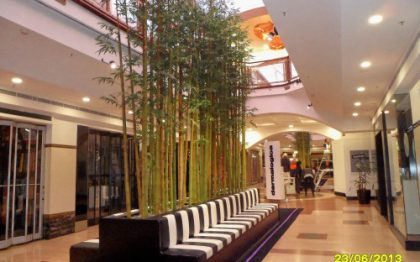 Greenwood Plaza, Sydney – artificial bamboo