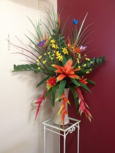 Artificial Flowers - Tropical arrangement