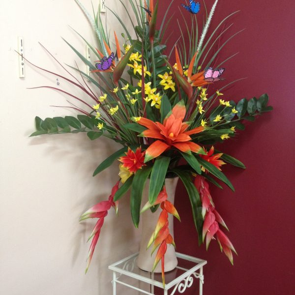 Artificial Flower arrangement - Tropical arrangement