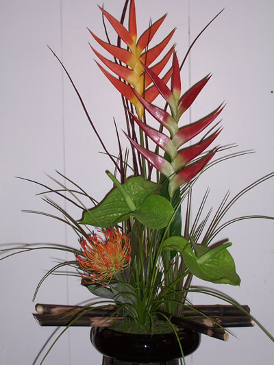 Artificial Flower Arrangements In A Wide Variety Of Styles And Colors