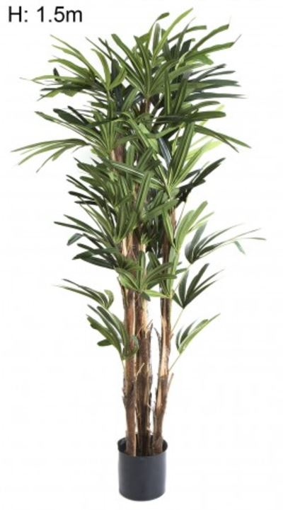 Artificial Raphis Palm 1.5mt