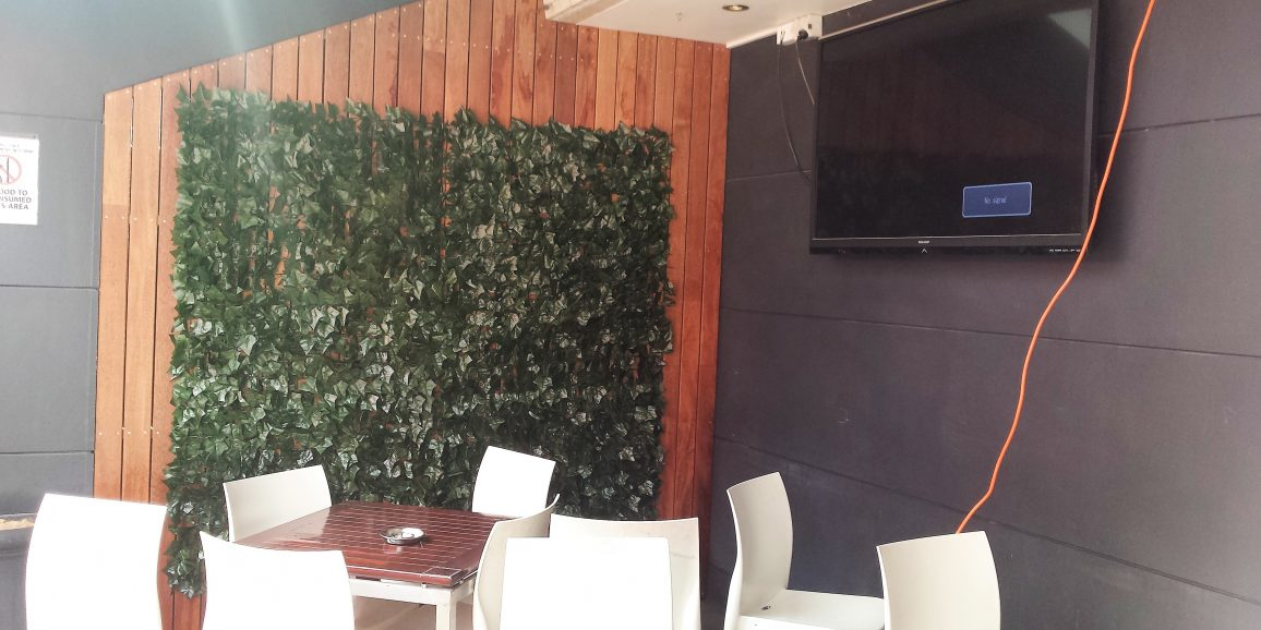 Artificial Ivy wall – Collector Hotel Parramatta