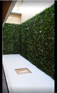 vy wall hotel - Artificial Ivy screens 1
