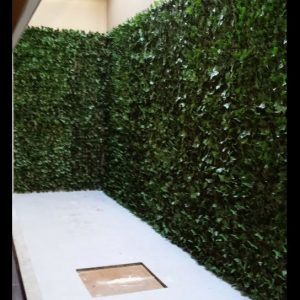Ivy wall hotel – Artificial Ivy screens
