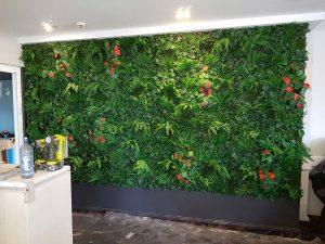 Laurieton hotel vertical garden wall