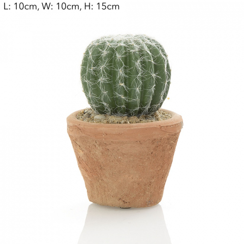 Artificial Cactus in pot 15cm