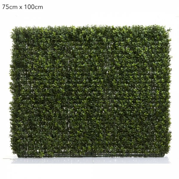 Boxwood artificial hedge 1mt x 750mm