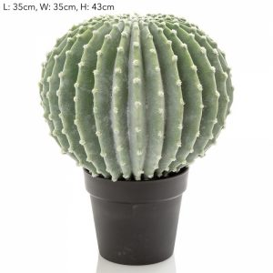 Artificial Ball Cactus 45cm