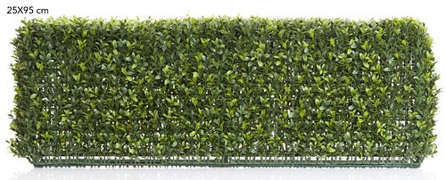 Boxwood Artificial Hedge 95cm Long x 25cm High
