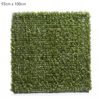 artificial boxwood hedge 93cm x 100cm