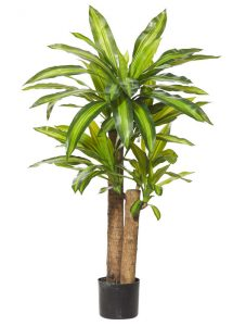 Artificial-Happy-Plant-110cm-3 trunks-6 Heads