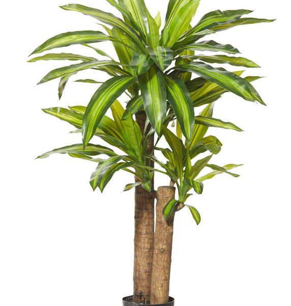 Artificial-Happy-Plant-110cm-2 trunks-6 Heads