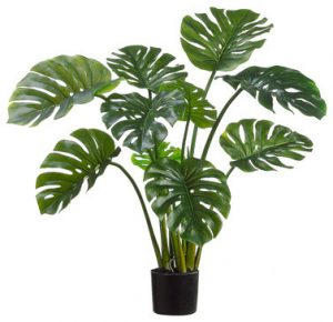 Artificial-Monstera-Split-Leaf-Philo-Plant-120cm