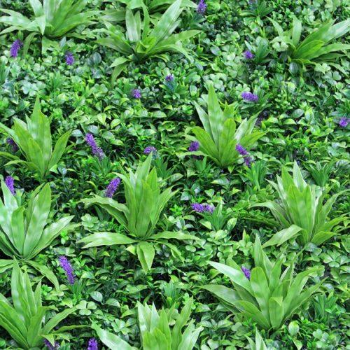 Artificial Wall Garden Lavender