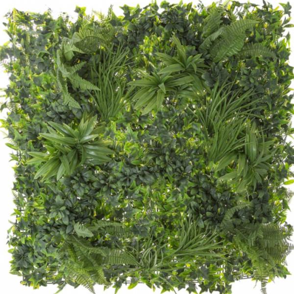 Artificial Wall Garden variegated