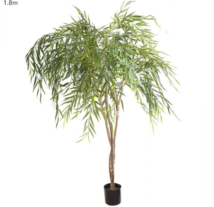 Chinese Weeping Willow Tree 240cm – Artificial tree natural trunks