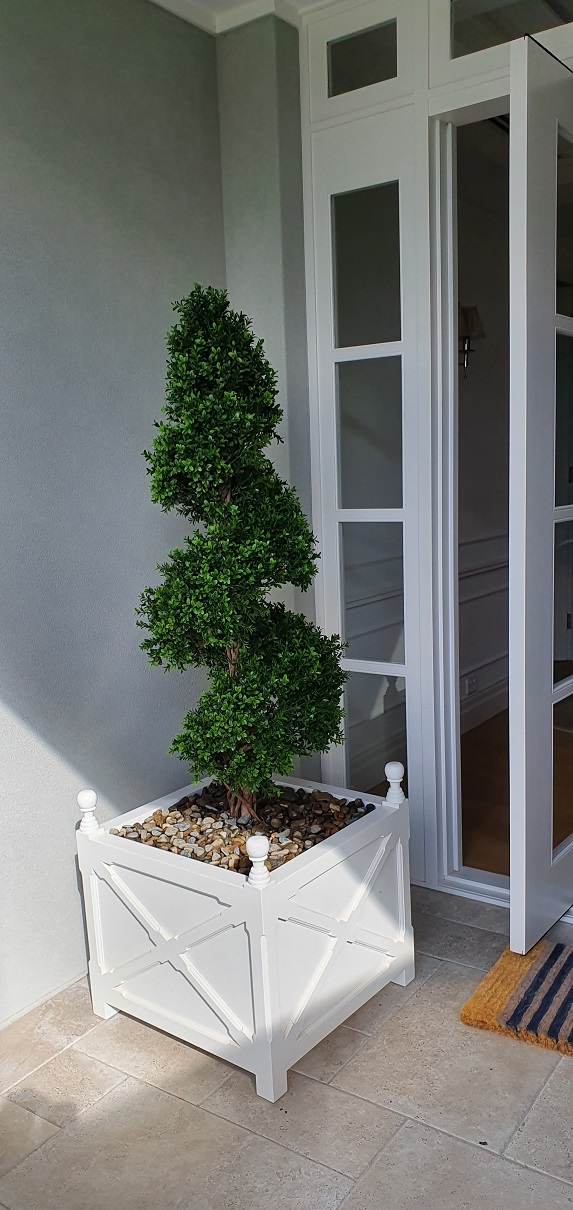 Boxwood Spiral Tree 150cm - Artificial Topiary Tree