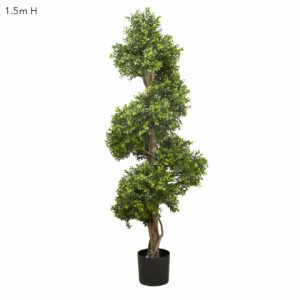 This is an artificial Boxwood spiral Tree 150cm